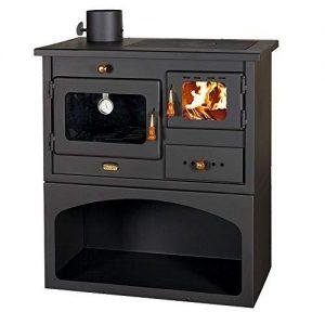 estufas de leña con horno de hierro fundido