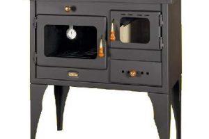 cocina de leña con horno
