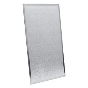 protector de pared para estufa de leña