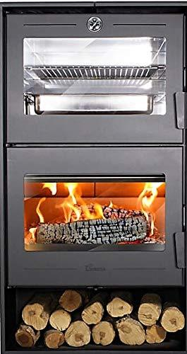 Mejores Estufas de leña con horno lacunza